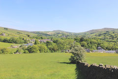 Field in Hayfield, The Peak District. Royalty Free Stock Photo