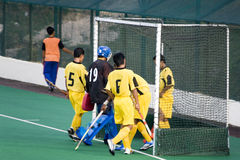 Field Hockey. Players in action Stock Image