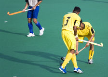 Field Hockey. Players in action Stock Images