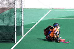 Field Hockey Stock Image