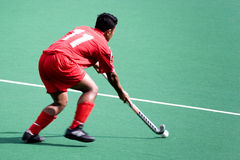 Field Hockey. Player in action Royalty Free Stock Image