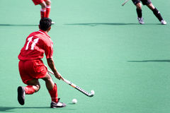 Field Hockey. Player in action Royalty Free Stock Photos