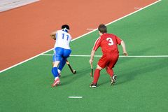 Field Hockey Royalty Free Stock Photography