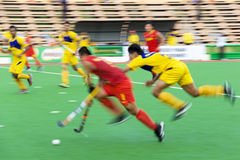 Field Hockey Action (Blurred) Royalty Free Stock Photos