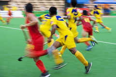 Field Hockey Action (Blurred) Royalty Free Stock Photography