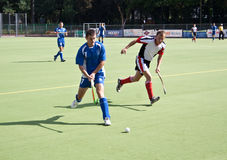 Field hockey match Royalty Free Stock Photography