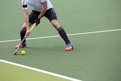 Field Hockey Pass Stock Photography