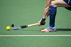 Field Hockey Passing Royalty Free Stock Photo