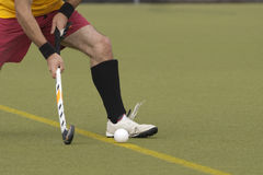 Field Hockey Player Royalty Free Stock Images