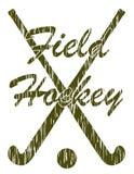 Field hockey sport concept vector illustration Stock Photos