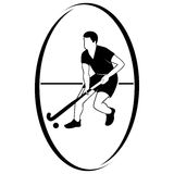 Field hockey-1 Royalty Free Stock Photos