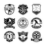 Field-Hockey Vector Icons 14 Stock Photos