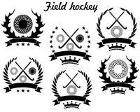 Field hockey. Vector illustration (EPS 10 Royalty Free Stock Photography