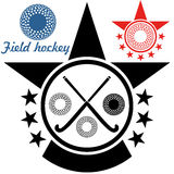 Field hockey. Vector illustration (EPS 10 Royalty Free Stock Image