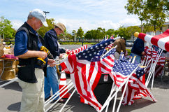 Field of Honor Event Royalty Free Stock Photography