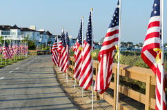 Field of Honor Event Stock Images