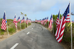 Field of Honor Event Royalty Free Stock Image