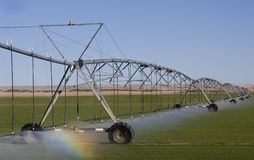 Field Irrigation System Stock Image