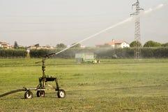 Field irrigator royalty free stock image