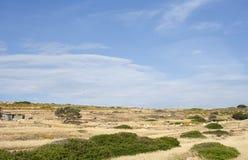 Field in Koufonisi island Royalty Free Stock Photos