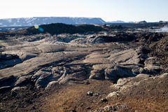 Field of Lava Stock Images