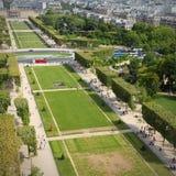 Field of Mars, Paris Stock Image