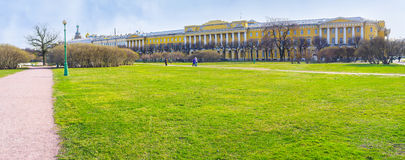The Field of Mars in St Petersburg Stock Photography