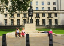 Field Marshal statue London Stock Photo