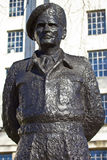 Field Marshall Viscount Montgomery Statue Stock Image