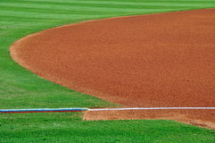 The field of minor league dreams-1 Royalty Free Stock Photography