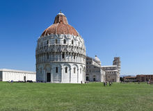 Architectural ensemble of Field of Miracles, Pisa - Italy Stock Photo