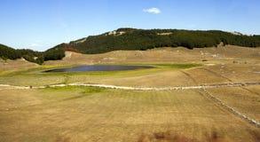 Field. Montenegro Stock Image