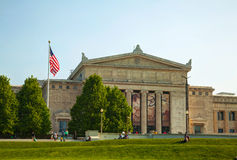 The Field museum av naturhistoria i Chicago Arkivfoto