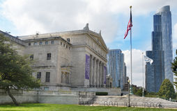 Field Museum and Skyline Stock Photography
