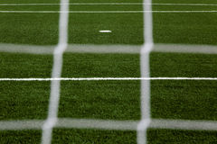 Field through net Royalty Free Stock Photos