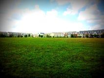 Field next to Mattie Stepanek Memorial park Stock Photo