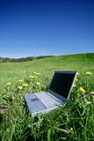 Field Notebook. Field work Royalty Free Stock Images