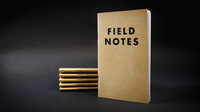 Field notebooks Stock Photos