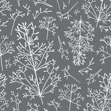 Field plant seamless pattern. Vector Stock Photos