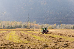 Field plowing Stock Photography