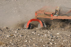 Field Preparation royalty free stock images