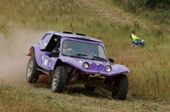 Field racing off road Royalty Free Stock Photography