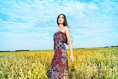 Field romance Royalty Free Stock Photo