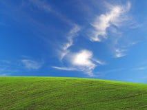 Free Field & Sky Royalty Free Stock Photography - 3465677