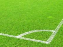 field soccer 图库摄影