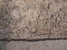 Field soil Stock Photo