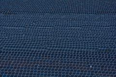 Field of solar panels filling the frame. Clean energy for the future Royalty Free Stock Image