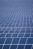 Field of solar panels Stock Images