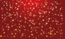Field of stars red Stock Images