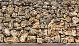 Field Stone Backdrop Stock Photography